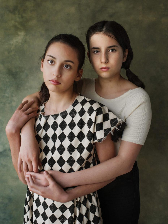 portrait 2 sœurs